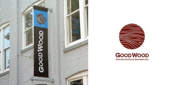 Good Wood Furniture Blank Design Branding Web