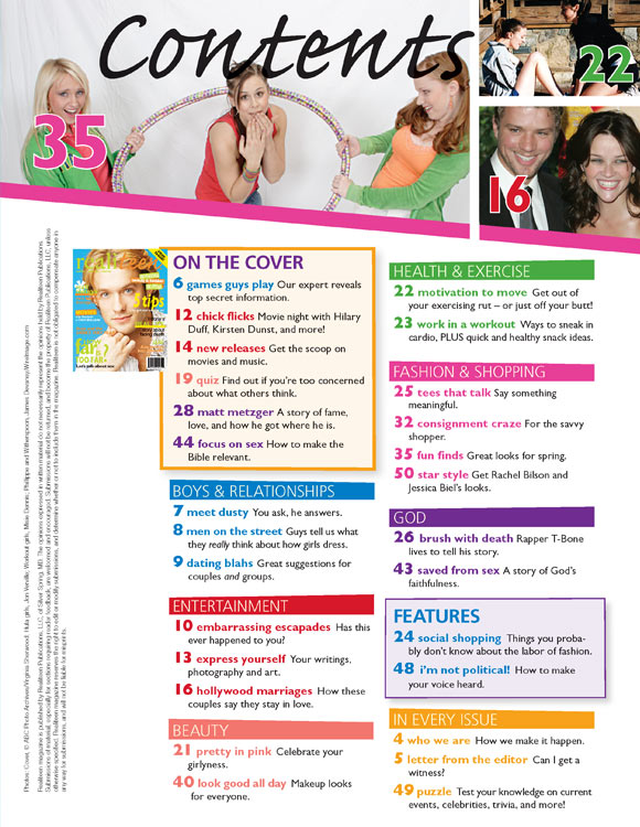 Relevant magazine dating